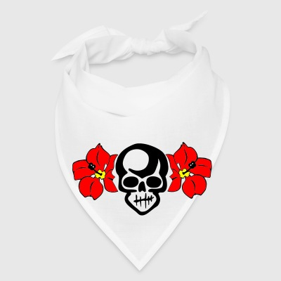 Creme THE HULA SKULL by VAN TRIBE Accessories - Bandana