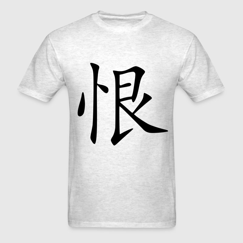 Ash  Hate - Chinese Sign - Symbol Men - Men's T-Shirt