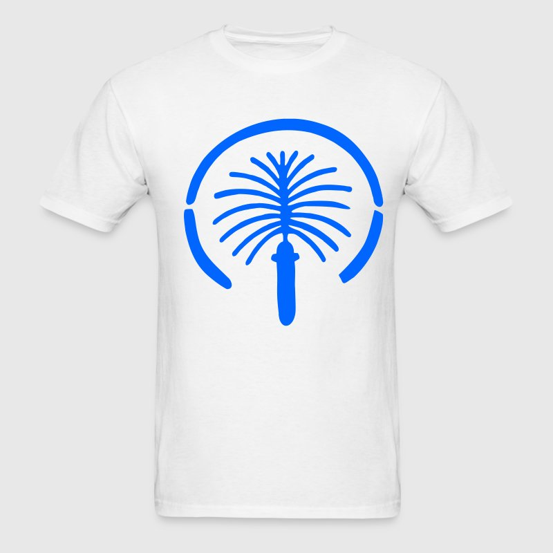 White Palm Island - Dubai - Emirates - Holiday - Luxury Men - Men's T-Shirt