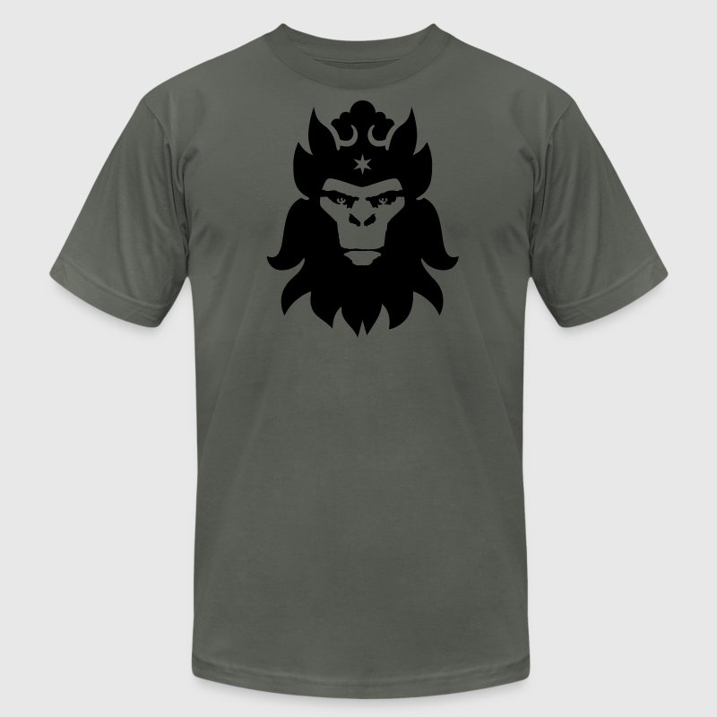 Asphalt Monkey King Men - Men's T-Shirt by American Apparel