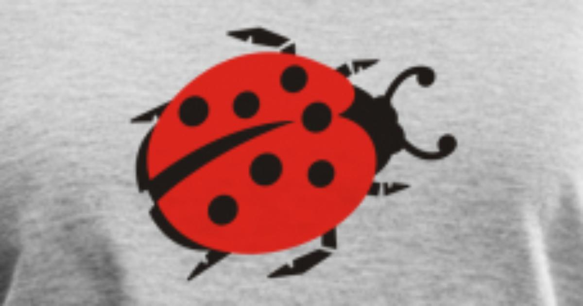 d6ba566f1439 ... Ladybug Tops For Women: Ladybug T-Shirt