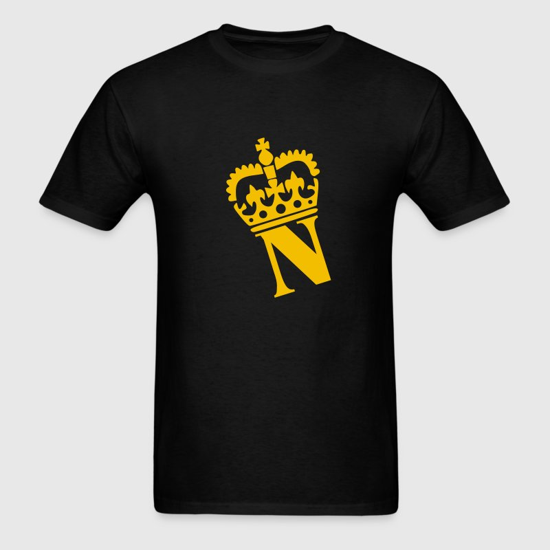 Black Crown - N – Name Men - Men's T-Shirt