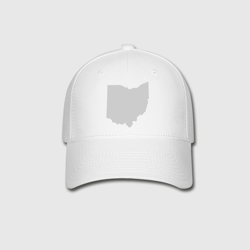 White State of Ohio solid Cap - Baseball Cap