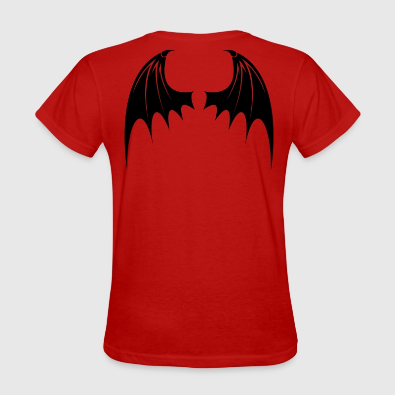 Red Bat Wings Women - Women's T-Shirt