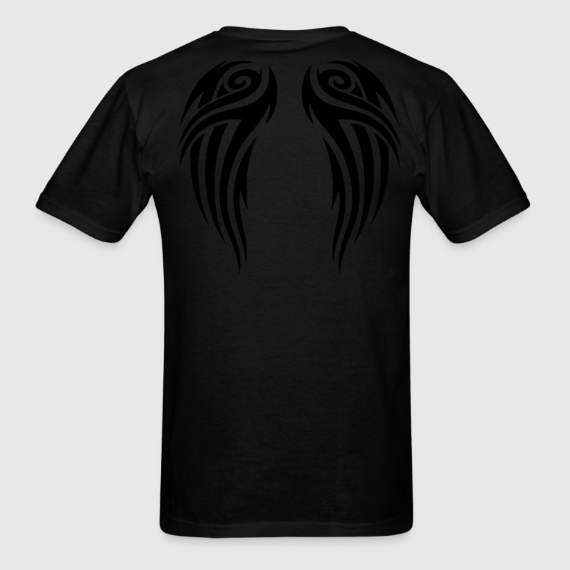 Black tribal wings T-Shirts - Men's T-Shirt