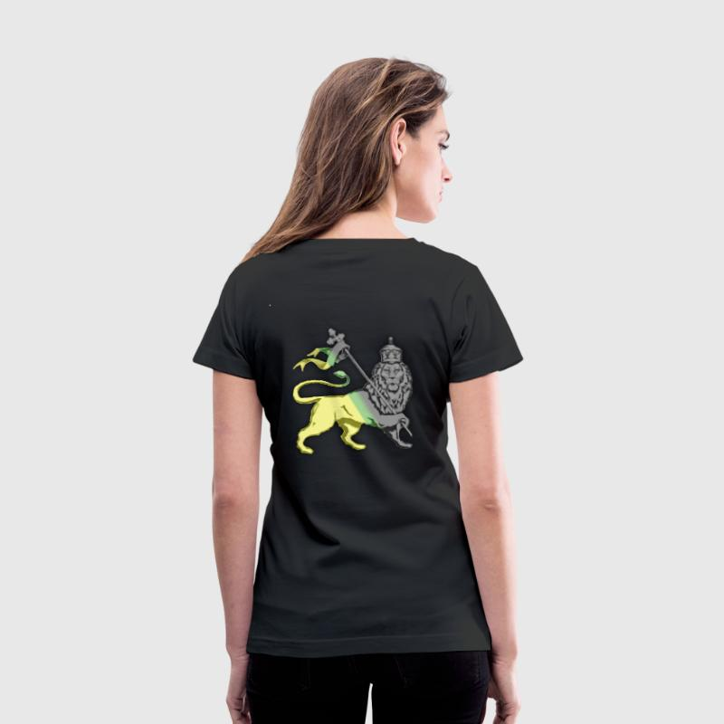 Jah Irie - Women's V-Neck T-Shirt