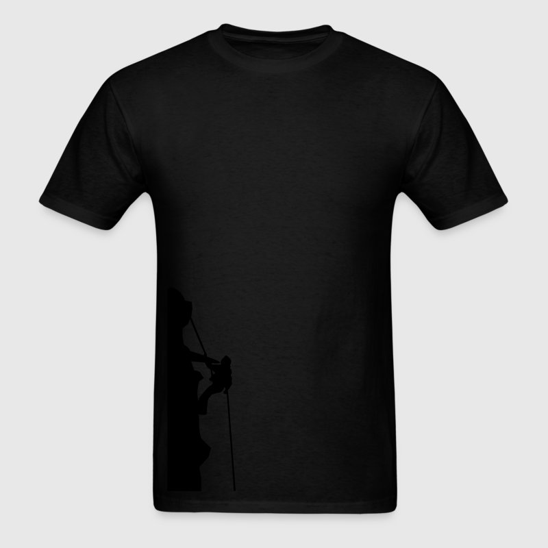 Black Mountain Rock Climber T-Shirts (Short sleeve) - Men's T-Shirt
