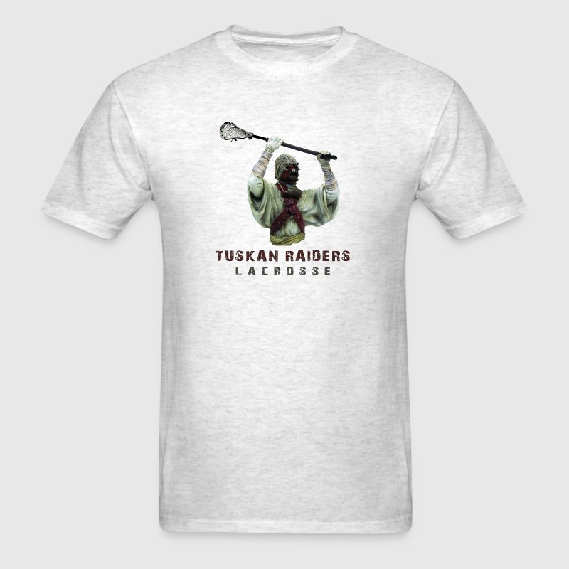 Ash  tuskan raider lacrosse T-Shirts (Short sleeve) - Men's T-Shirt