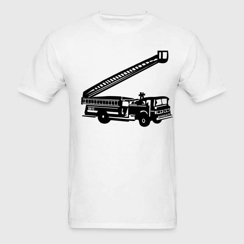 White Fire Department - Fire Engine - Firefighter T-Shirts (Short sleeve) - Men's T-Shirt