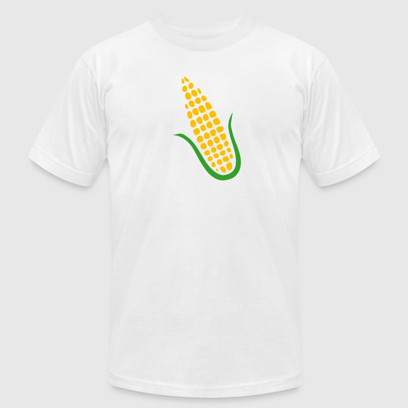 Gold corn T-Shirts (Short sleeve) - Men's T-Shirt by American Apparel