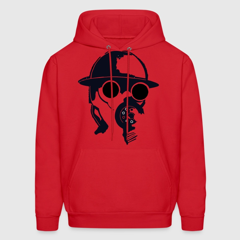 Red The Gas Man Hoodies - Men's Hoodie