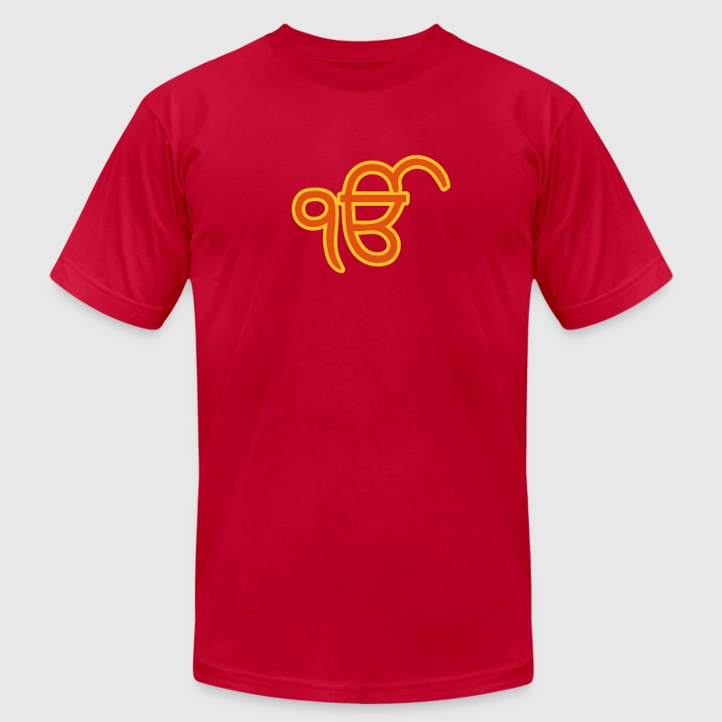 Sikh Ek Onkar - Men's T-Shirt by American Apparel