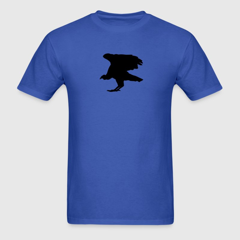 Royal blue buzzard T-Shirts (Short sleeve) - Men's T-Shirt