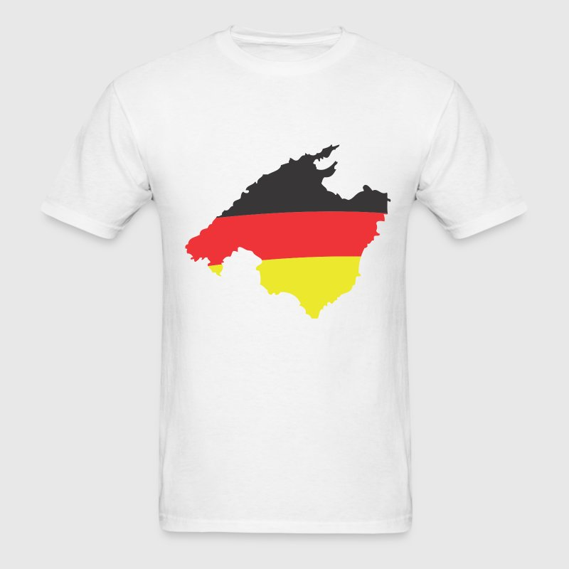 Mallorca Germany Flag FUN T Shirt