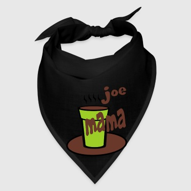 Black Joe Mama With Large Coffee Cup Bags  - Bandana