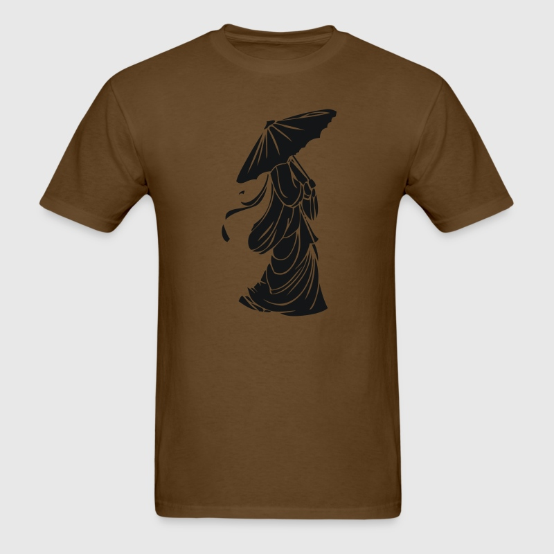 Brown Geisha T-Shirts (Short sleeve) - Men's T-Shirt