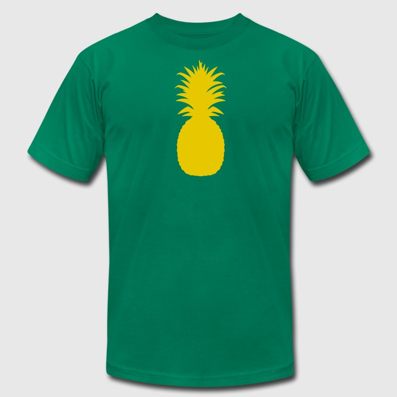 Kelly green pineapple T-Shirts - Men's Fine Jersey T-Shirt