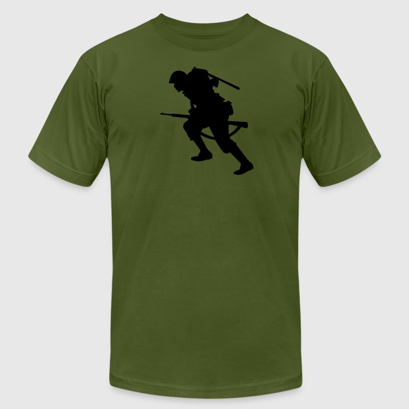 Olive soldier T-Shirts - Men's Fine Jersey T-Shirt