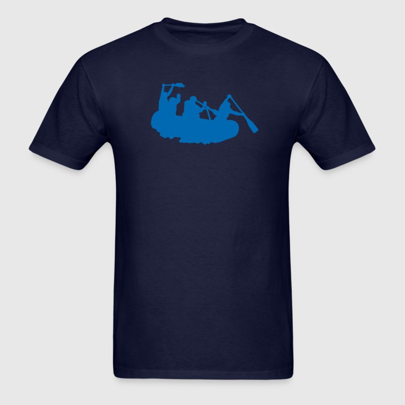 Navy rafting T-Shirts - Men's T-Shirt