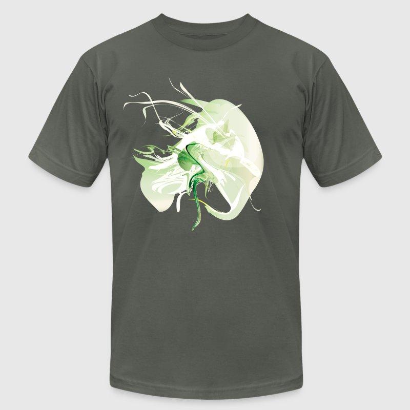Cool Green Smoke Graphic T-Shirt | Spreadshirt