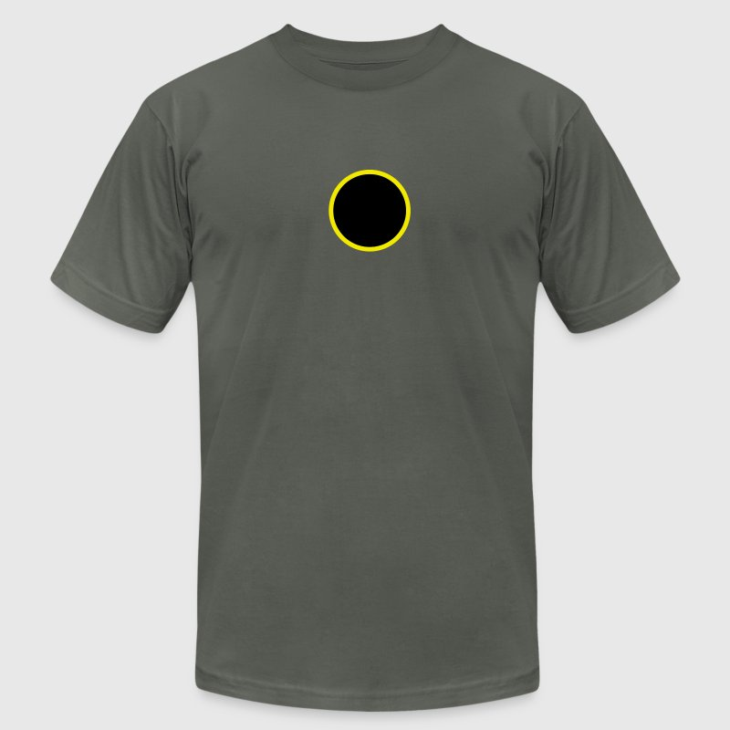 Asphalt eclipse - sun - moon T-Shirts - Men's T-Shirt by American Apparel