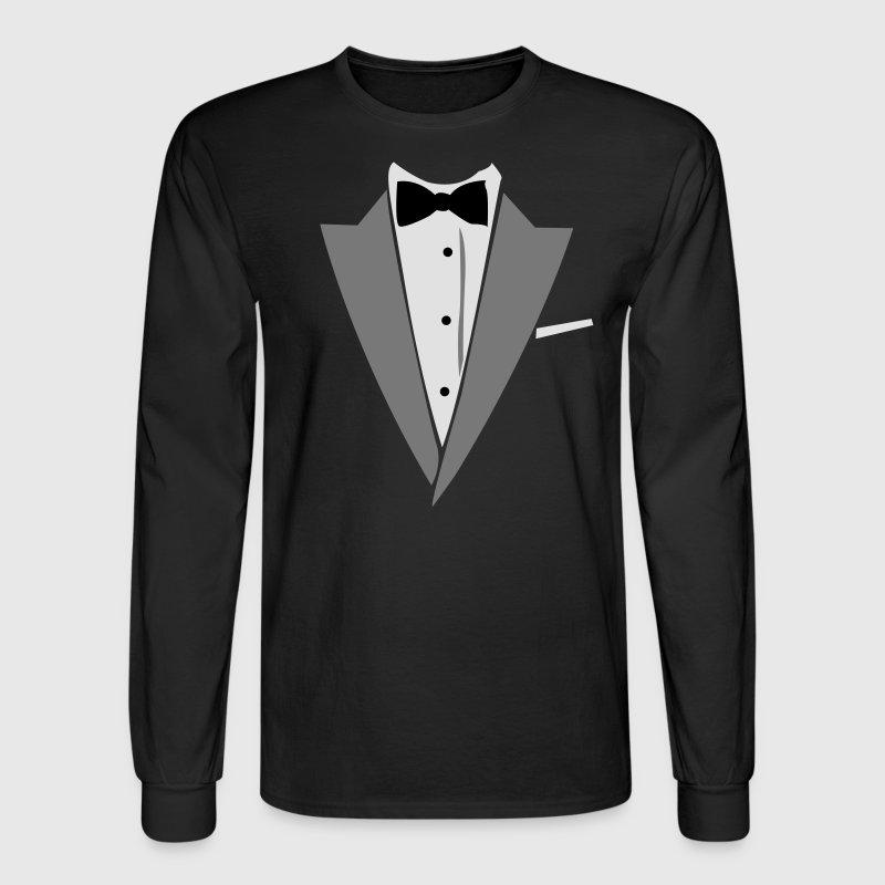Hilarious tuxedo shirt t shirt spreadshirt for Tuxedo shirt vs dress shirt