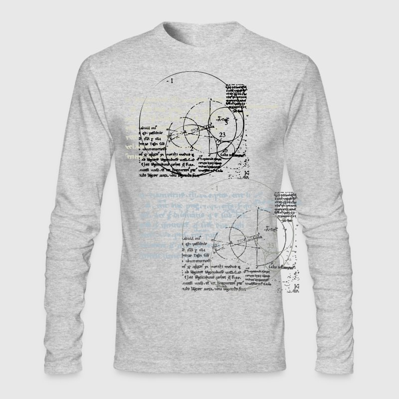 White new invention designs Long sleeve shirts - Men's Long Sleeve T-Shirt by Next Level