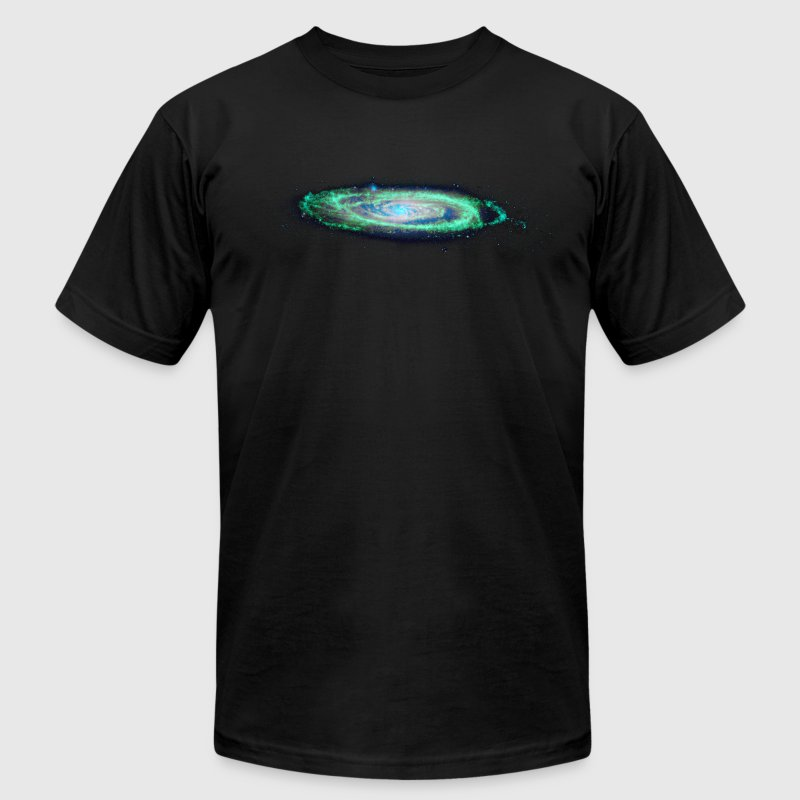 The Milky Way T-Shirts Black - Men's Fine Jersey T-Shirt