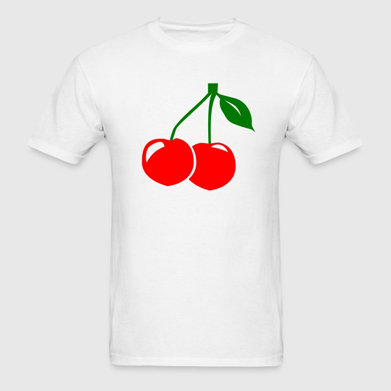 White Cherry T-Shirts - Men's T-Shirt