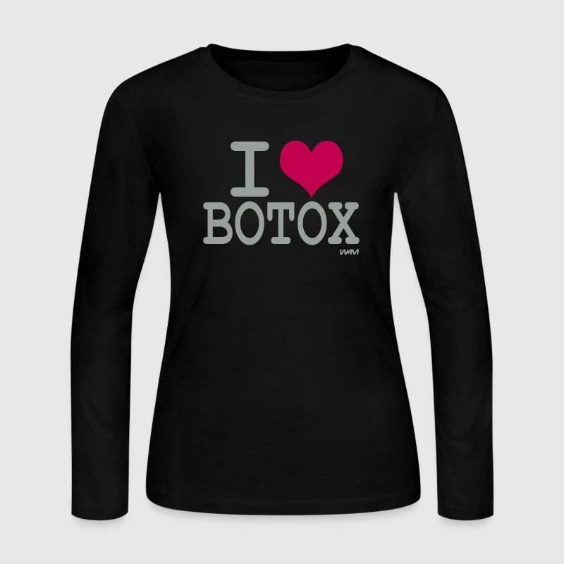 Black i love botox by wam Long sleeve shirts - Women's Long Sleeve Jersey T-Shirt