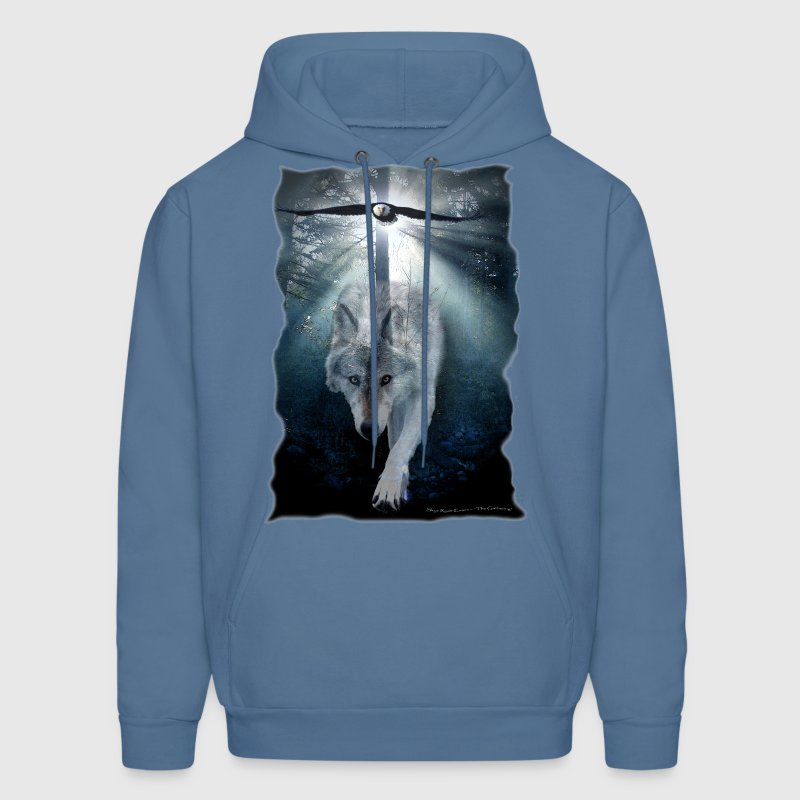 Wolf & Eagle (The Gathering) - Men's Hoodie