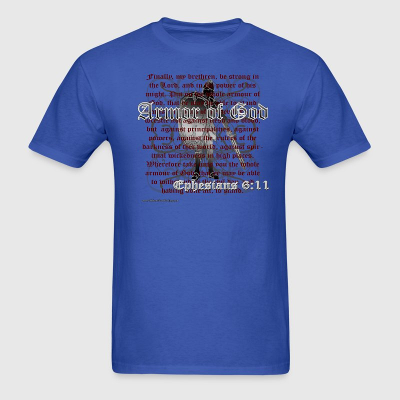 Armor of God, Cool Christian T-Shirts T-Shirt | Spreadshirt