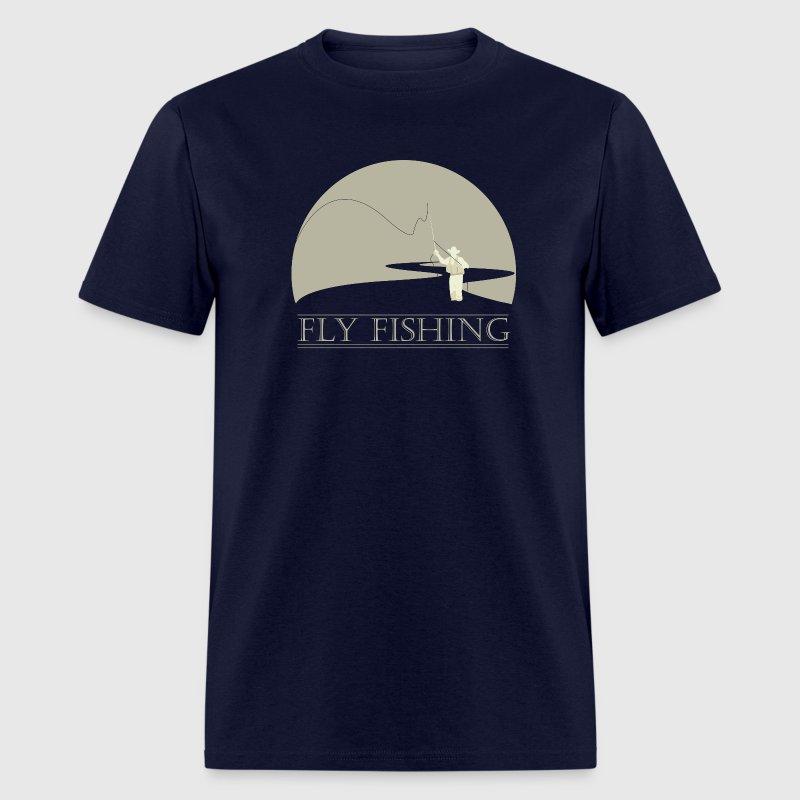 Fly Fisherman 2 Fly Fishing Shirt Design T Shirt Spreadshirt