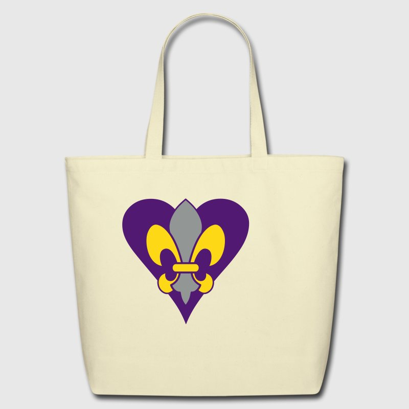 Mardi Gras Fleur-de-lis - Eco-Friendly Cotton Tote