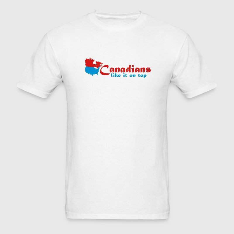 Canadians Like it on Top - Men's T-Shirt