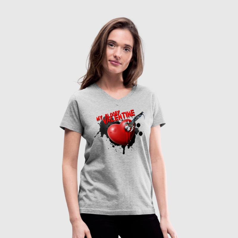 My Bloody Valentine - Women's V-Neck T-Shirt
