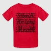 Red Black History Month - Famous Names Kids Shirts - Kids' T-Shirt