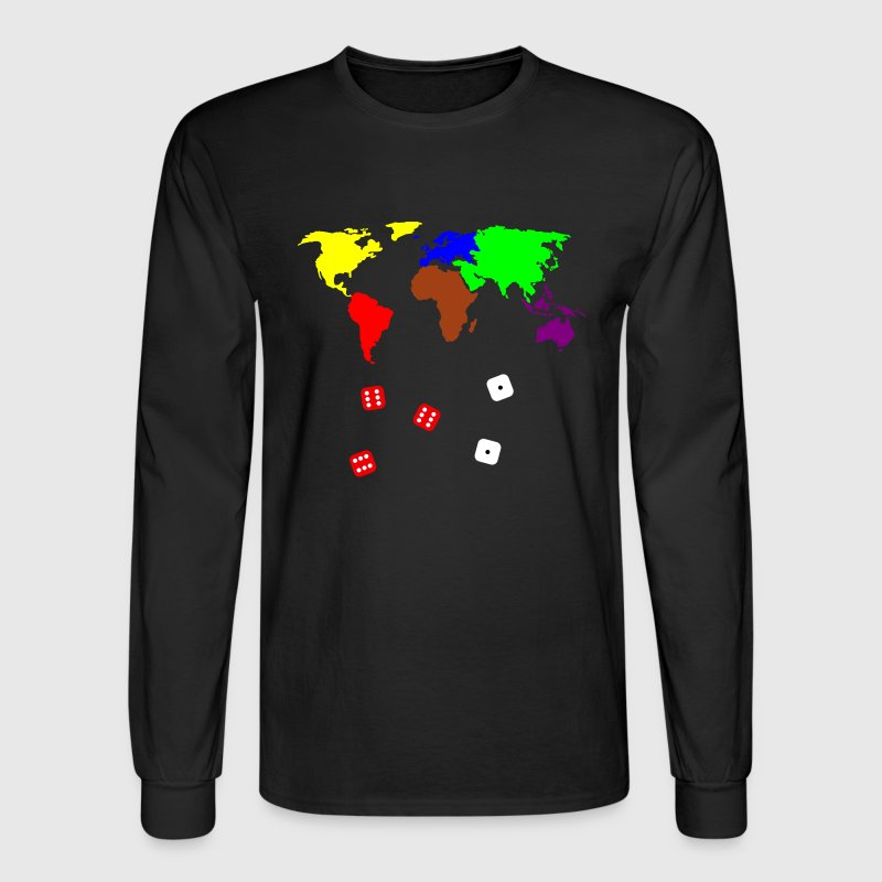 Black Risky Business Long sleeve shirts - Men's Long Sleeve T-Shirt