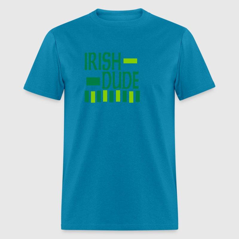 Irish Dude, 3 Color Design T-Shirt | Spreadshirt
