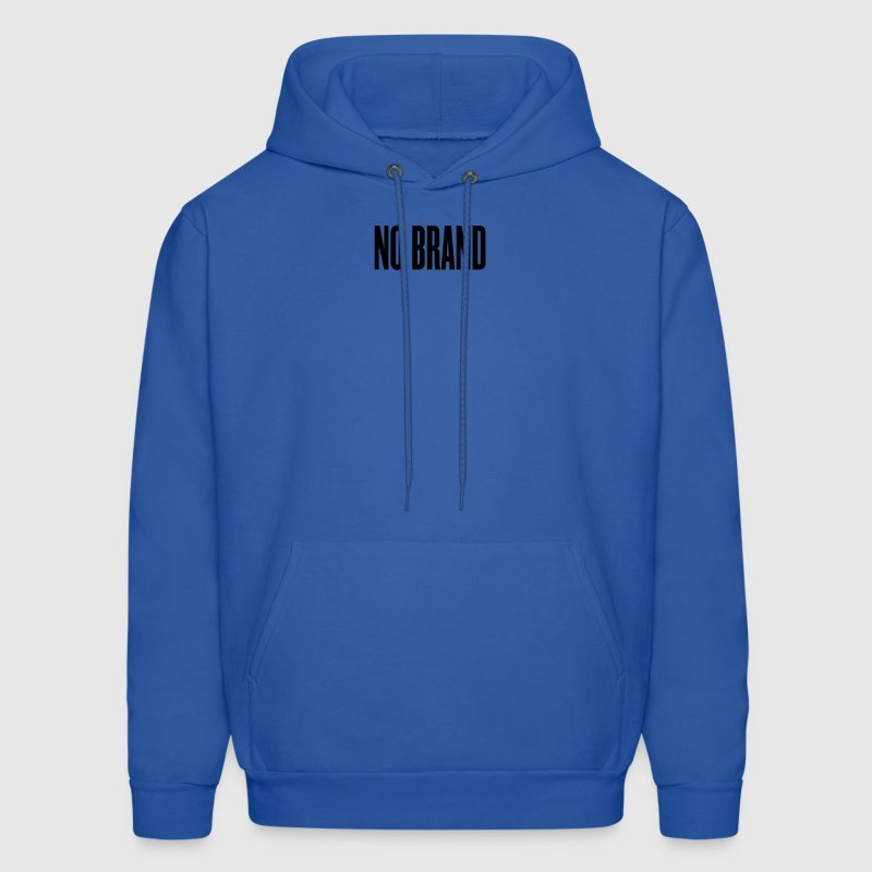 Royal blue no brand by wam Hoodies - Men's Hoodie