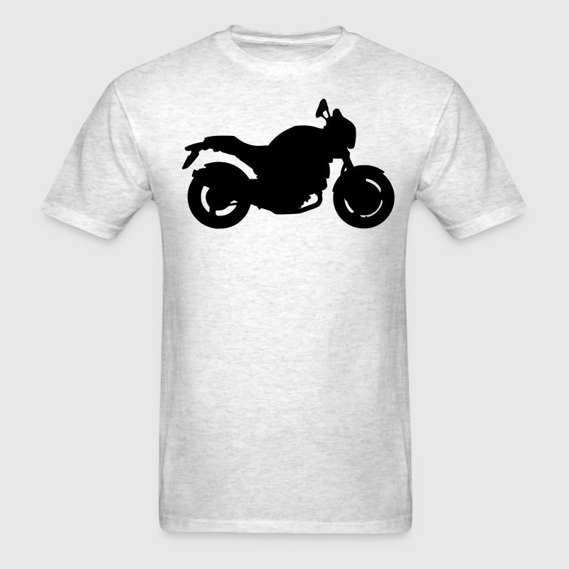 Ash  Ducati Monster T-Shirts - Men's T-Shirt