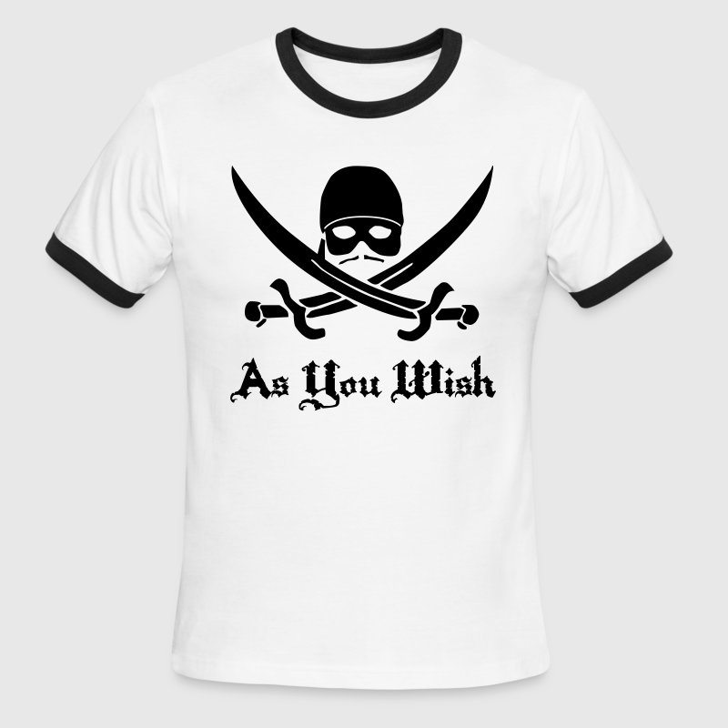 As You Wish - Men's Ringer T-Shirt