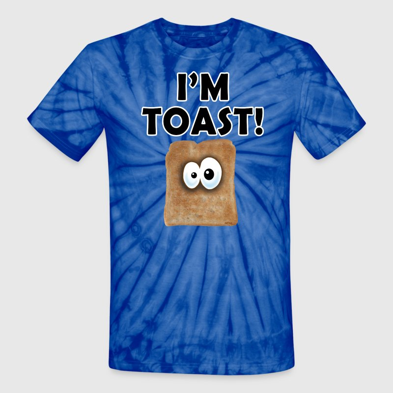 Spider red I'M TOAST! T-Shirts - Unisex Tie Dye T-Shirt