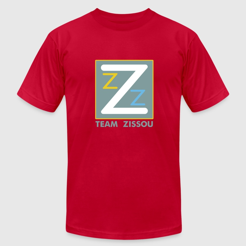 Light blue Team Zissou Logo T-Shirts - Men's T-Shirt by American Apparel