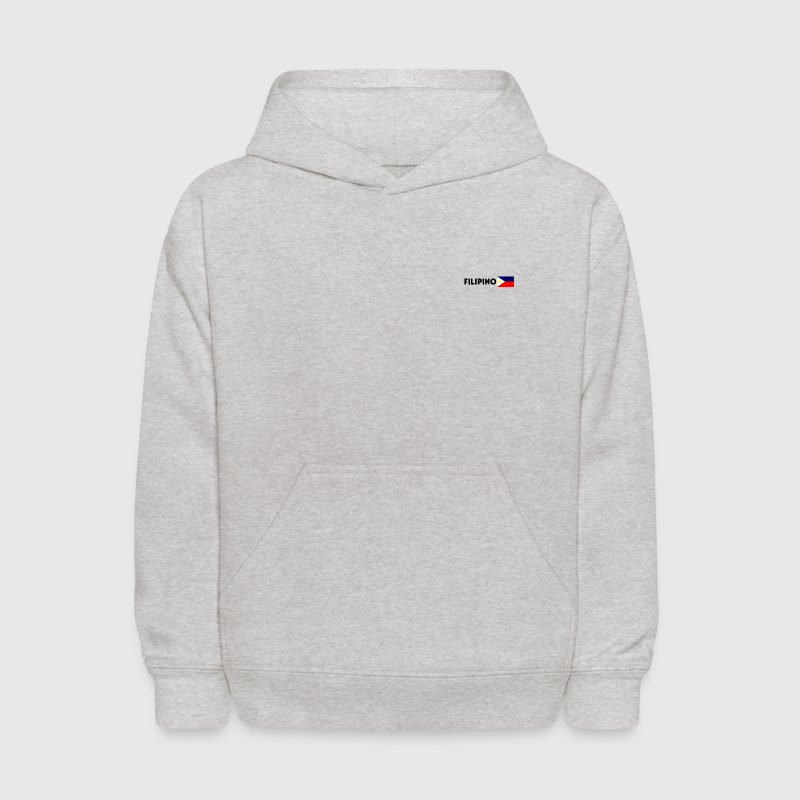 Filipino flag kid's hooded sweatshirt - Kids' Hoodie