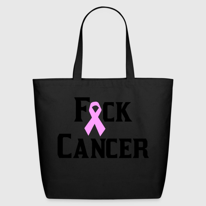 Black Fuck Cancer Bags  - Eco-Friendly Cotton Tote