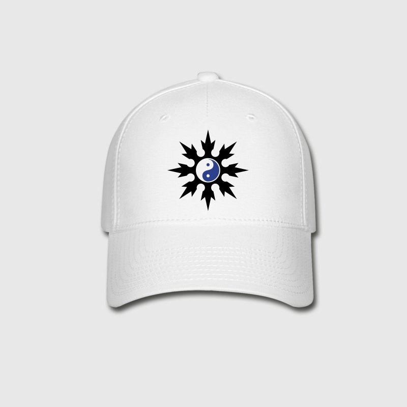 Chinese Throwing Star - Yin Yang Hat - Baseball Cap