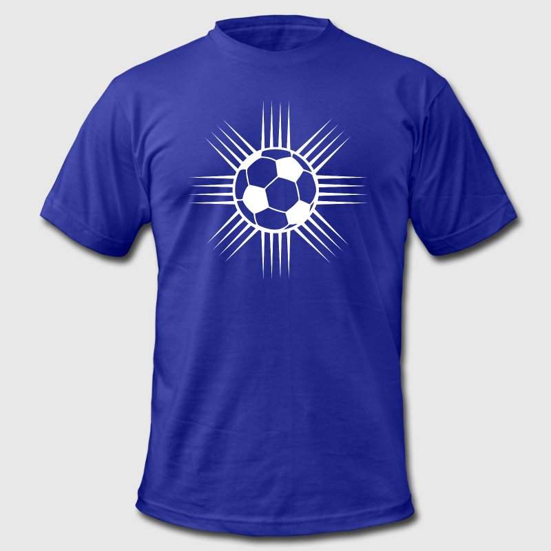cool soccer ball designer logo t shirt spreadshirt