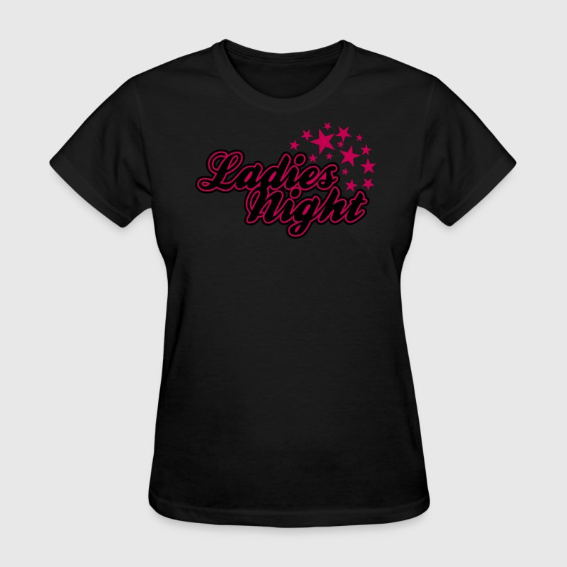 Black Ladies Night Women's T-shirts - Women's T-Shirt
