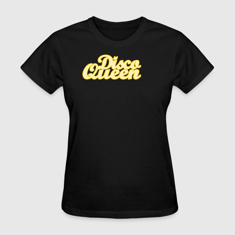Black Disco Queen Women's T-shirts - Women's T-Shirt